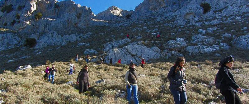 Trekking sul Montalbo